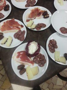 Salumi e formaggi tipici a Rimini Hotel Amicizia