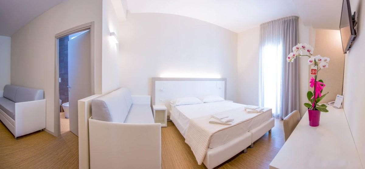 Panoramica della Junior Suite Hotel Amicizia
