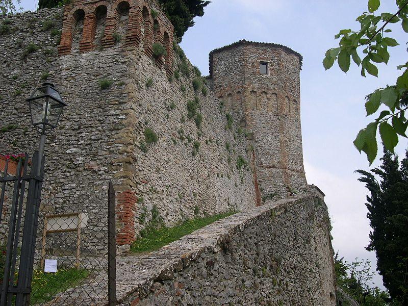 Scorcio del Castello di Montebello