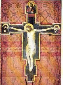 Crocifisso di Giovanni da Rimini allievo di Giotto
