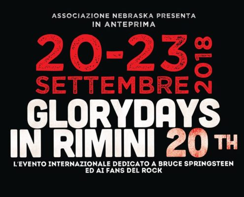 Glory Days tributo a Bruce Sprinsteen a Rimini