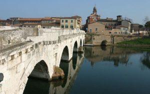 Ponte di Tiberio detto anche ponte del diavolo