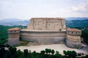 Vista della Rocca di San Leo