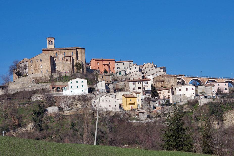 Foto del paese di Talamello