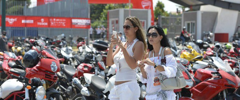 WDW World Ducati Week Raduno Ducati